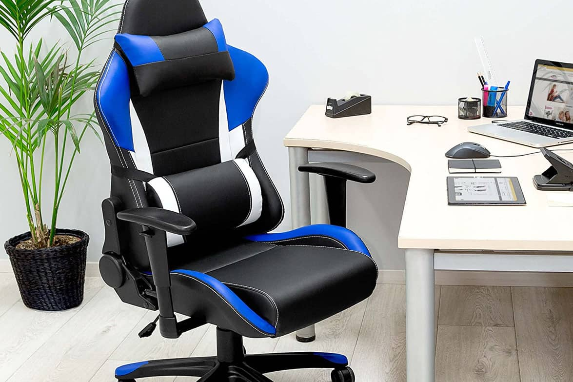 Silla gaming tectake racing for Silla ordenador gaming