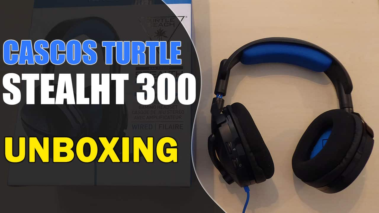 Turtle Beach Stealth 300 Auriculares Cascos PS4 y Xbox | Unboxing y Análisis