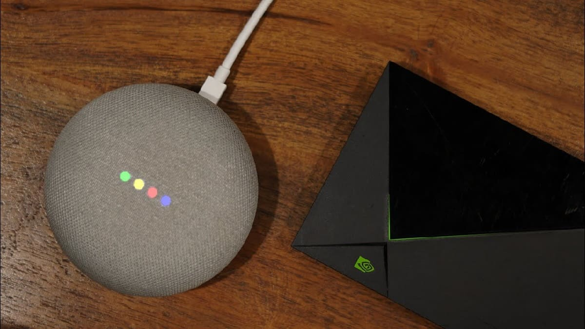 android tv y google home