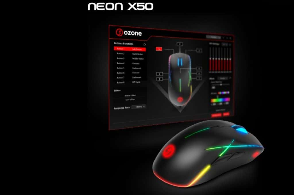 review OZONE NEON X50