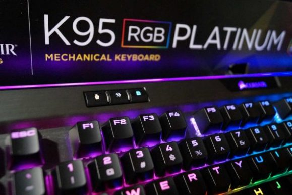 Corsair K95 RGB Platinum Keyboard